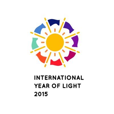 Logo Internationales Jahr des Lichts